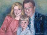 MCWEBBER Family Portrait - Oil