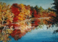 MCWEBBER Ripple Lake, Grafton - Oil