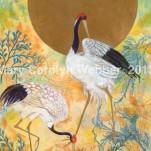 MCWEBBER Golden Cranes