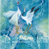MCWEBBER Winter Cranes