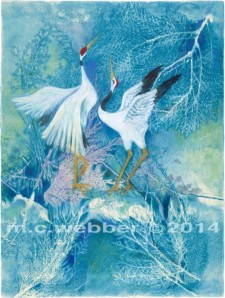 MCWEBBER WINTER CRANES copy
