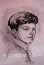 MCWEBBER Boy with Haircut - Charcoal