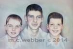 MCWEBBER Three Brothers - Pastel