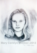 MCWEBBER Young Girl - Charcoal