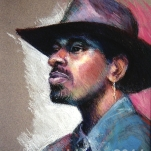 MCWEBBER Man with Hat - Pastel