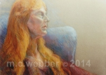 MCWEBBER Wistful Woman - Pastel