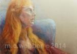 MCWEBBER Wistful Woman - Pastel